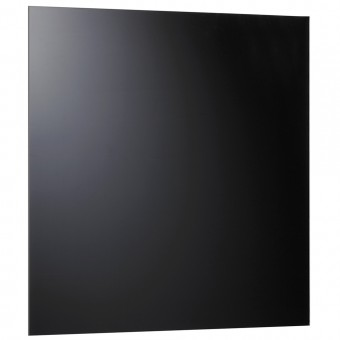 alco glas magnettafel 6960 11 48x48cm schwarz eoffice24. Black Bedroom Furniture Sets. Home Design Ideas