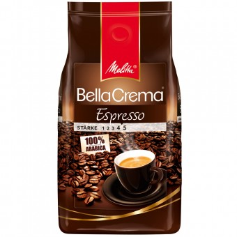 melitta kaffee bella crema espresso ganze bohnen 1kg eoffice24. Black Bedroom Furniture Sets. Home Design Ideas