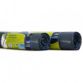secolan m lls cke 2023984 mit zugband 120 liter blau 10 st ck eoffice24. Black Bedroom Furniture Sets. Home Design Ideas