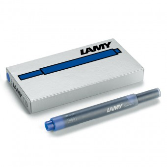 lamy t10 tintenpatronen blau schwarz 5 st ck eoffice24. Black Bedroom Furniture Sets. Home Design Ideas