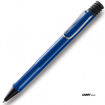 lamy kugelschreiber safari 214 m blau eoffice24. Black Bedroom Furniture Sets. Home Design Ideas