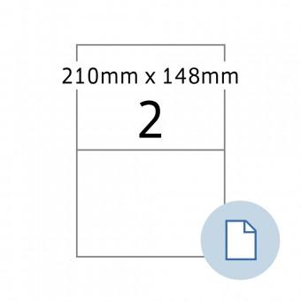 210 x 148 mm 100 Blatt weiß TOP STICK Universal-Etiketten