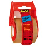 Packband Scotch C5020D braun im Handabroller 50mm x 20m