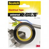 Isolierband Scotch universal PVC 15mm x 10m schwarz