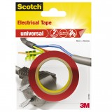 Isolierband Scotch universal PVC 15mm x 10m rot