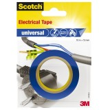 Isolierband Scotch universal PVC 15mm x 10m blau