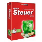 Quicksteuer 2016 Version 22.0 2016, deutsche Vollversion, Minibox