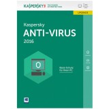 Kaspersky Anti-Virus 2016, 1 User, 12 Monate