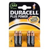 Batterien DURACELL Plus Power Micro AAA, 4 Stück