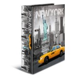 Ordner Herma 7171 A4 Karton New York Innendruck New York