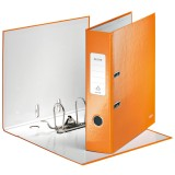 Ordner Leitz 1005 WOW A4 80mm orange metallic