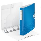 Ringbuch Leitz 4240 Active WOW A4 4 Ringe Softclick blau