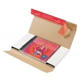 Versandbrief Colompac Juwelcase/DVD Wellpappe mit Fenster