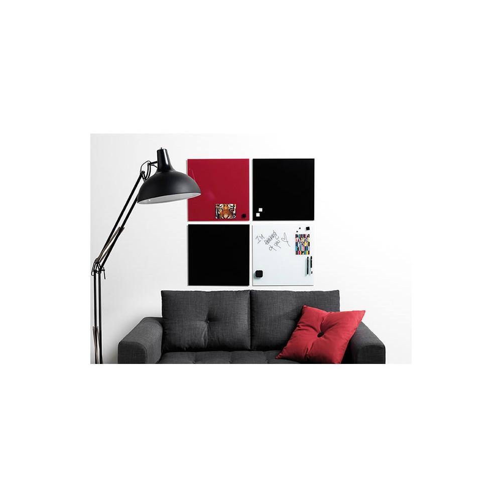 glas magnettafel franken gtl9012009 90x120cm reinwei eoffice24. Black Bedroom Furniture Sets. Home Design Ideas