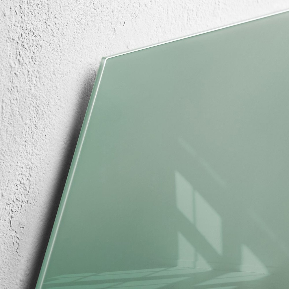 Glas Magnettafel Sigel GL281 artverum 400x460 mm Smoky-Green
