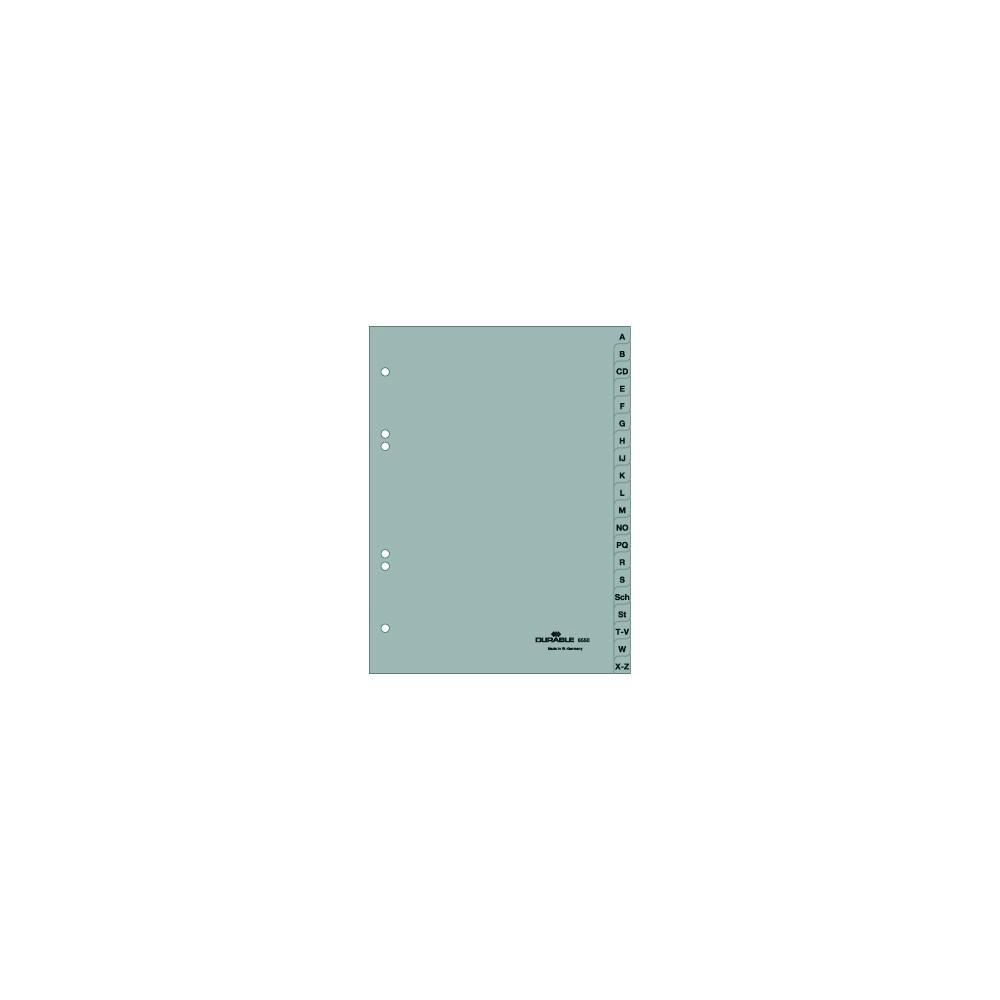 Durable 6550 A Z Register A5 Pp Folie Grau