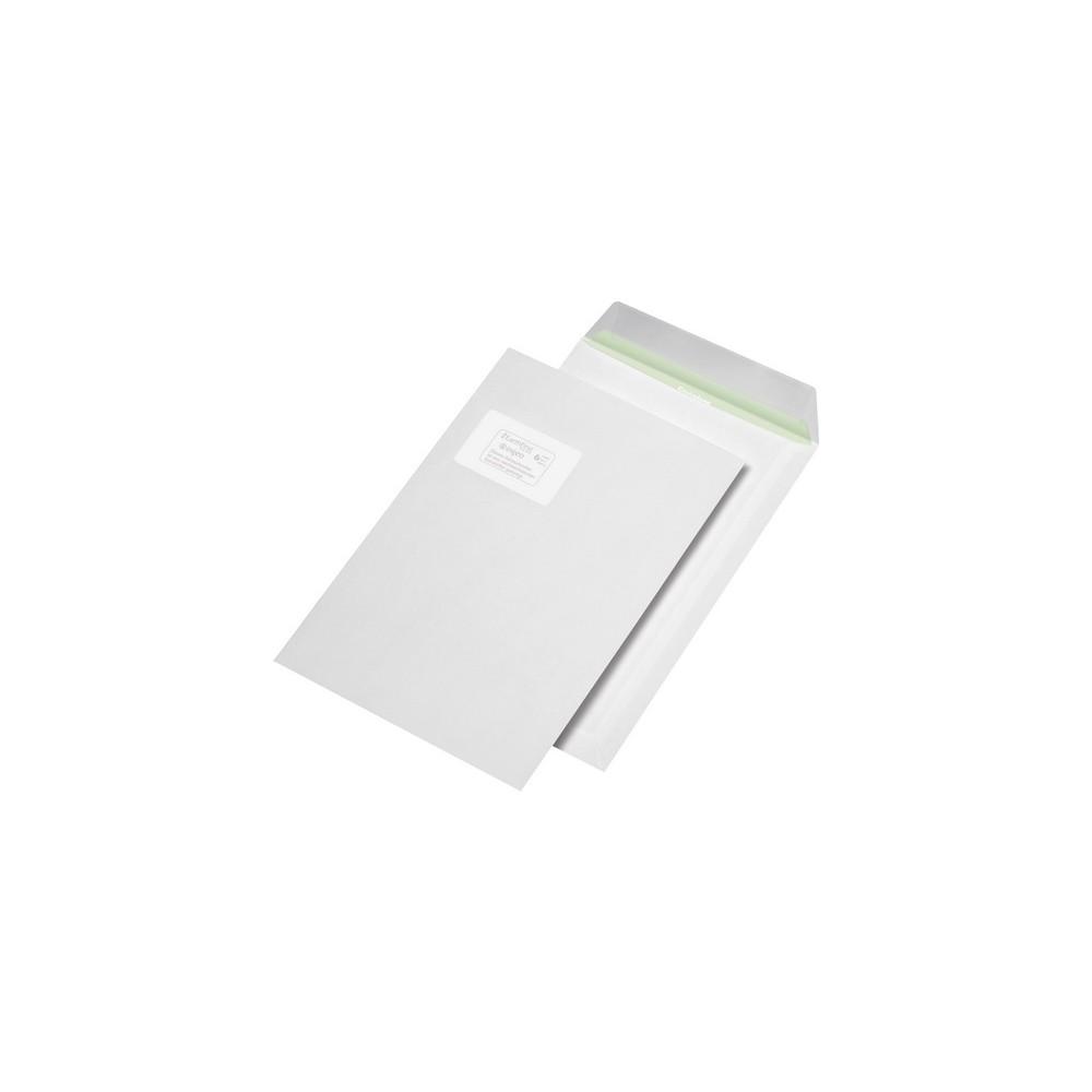 Versandtaschen C4 Fur Din A4 Haftklebend Recycling Mit Fenster 90g Weiss Co2 Neu