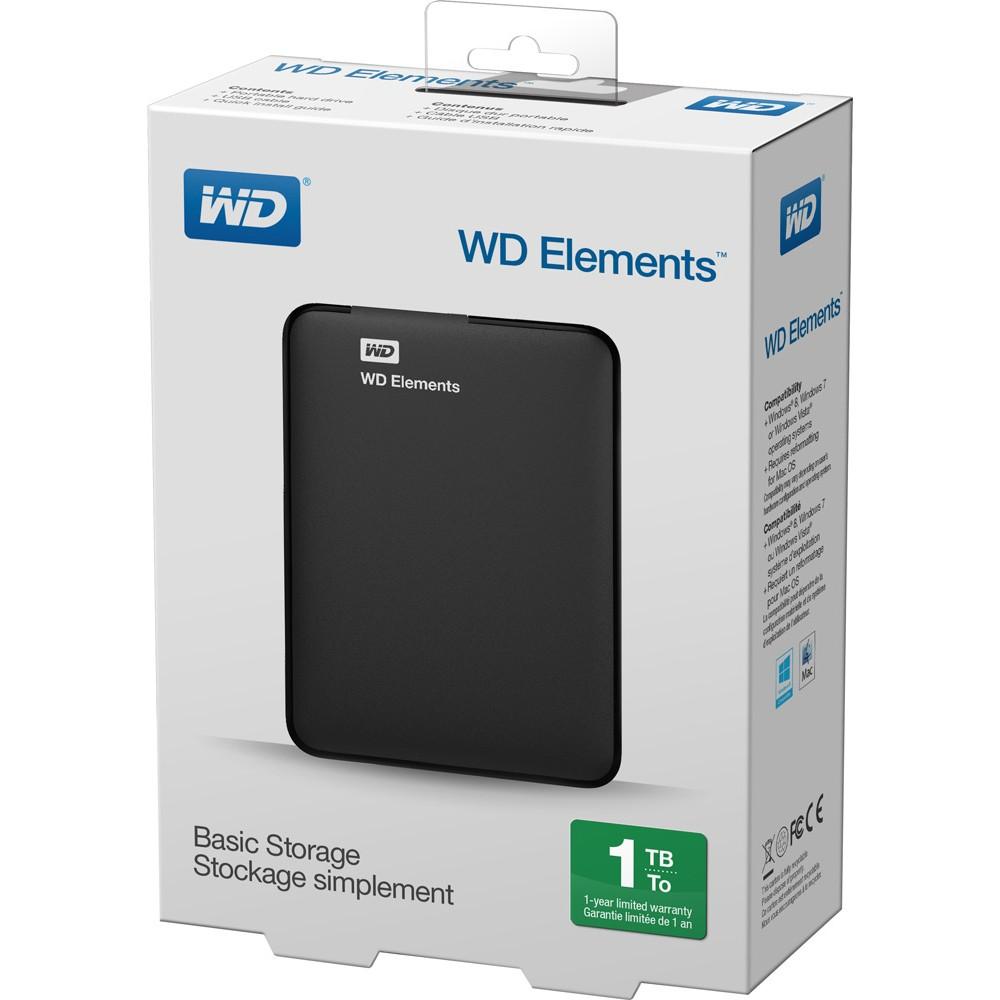 wd elements externe festplatte 1tb usb 3 0 eoffice24. Black Bedroom Furniture Sets. Home Design Ideas