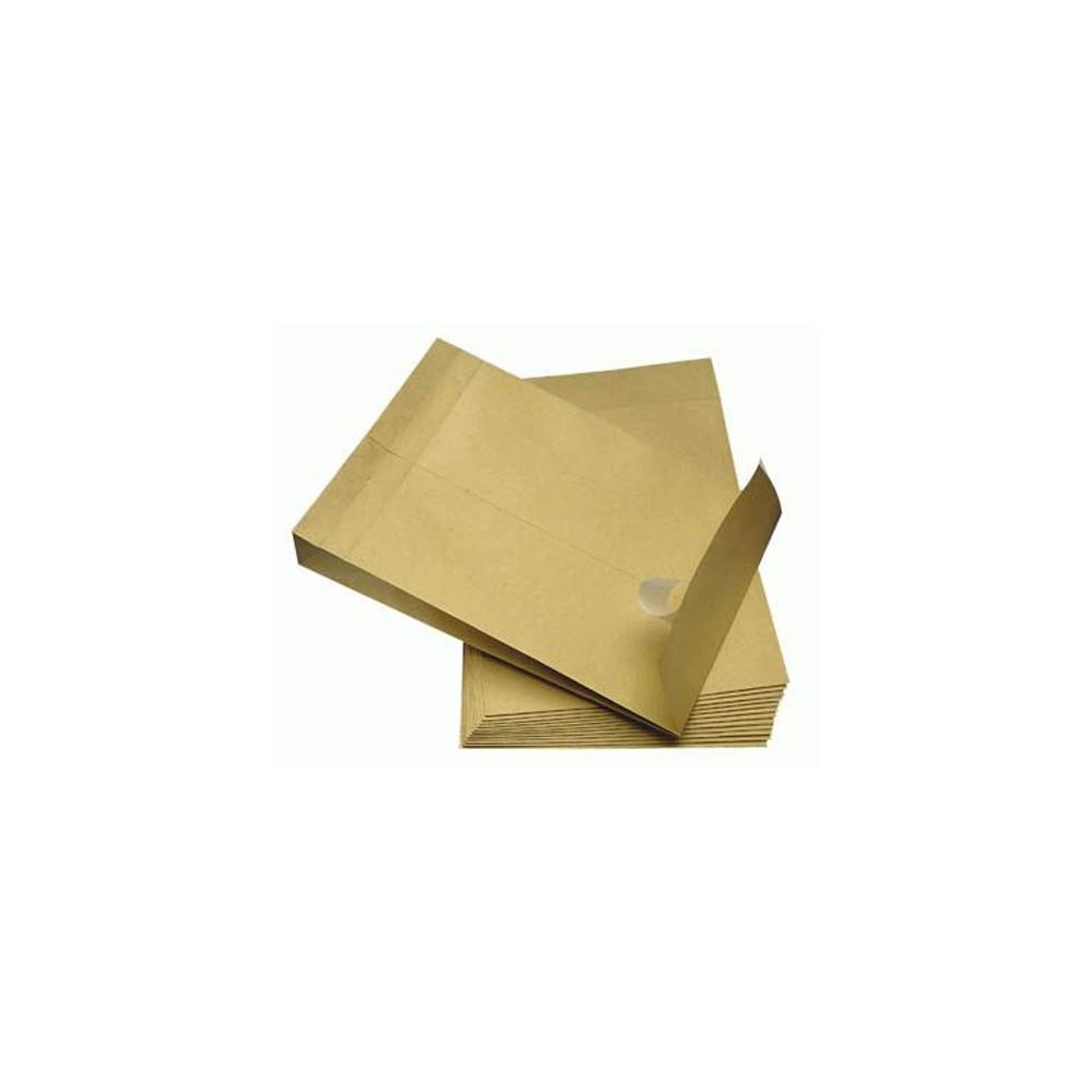 haftklebend 100 MAILmedia C4 140g//qm Faltenversandtaschen mit Klotzboden 4cm