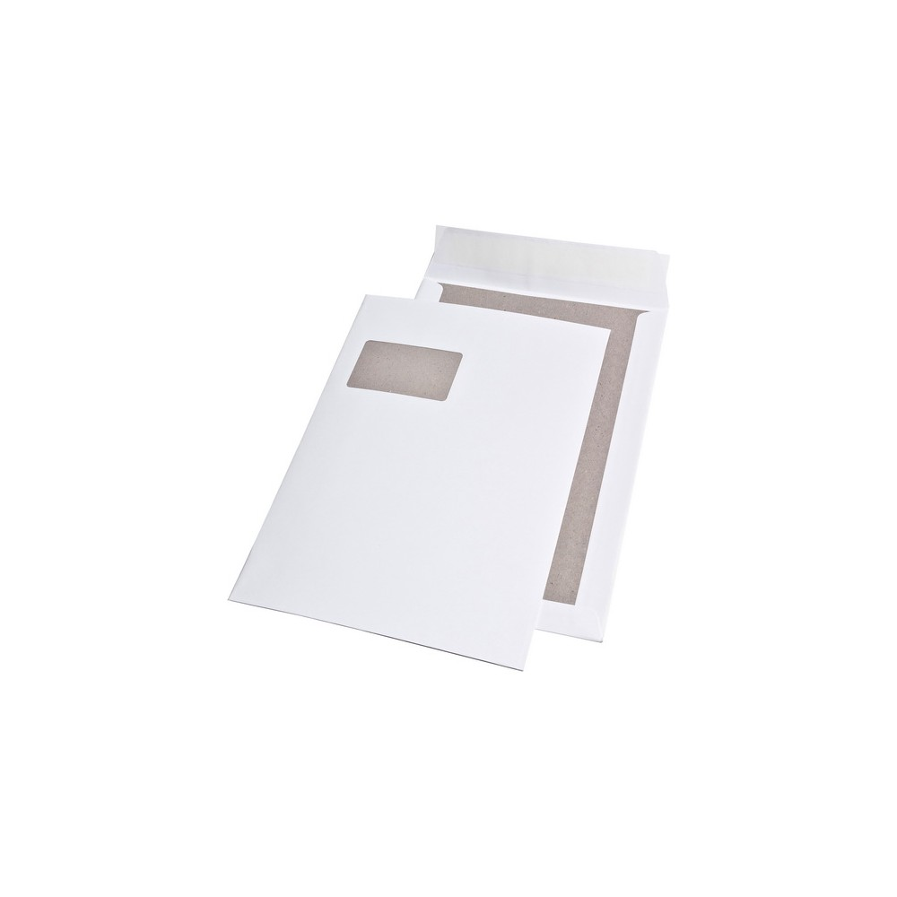 15 x Versandtaschen C4 weiß Umschlag für A4 *3*  Haftklebung haftklebend