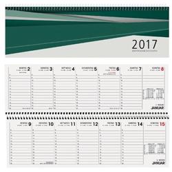Terminplaner 2016 bei eoffice24 gnstig online for Schreibtisch querkalender